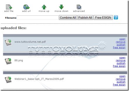Loopapps web app multiuso per convertire unire o firmare i file pdf tuttovolume - Unire diversi pdf ...