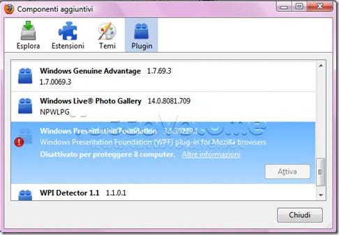 Firefox Windows Presentation Foundation