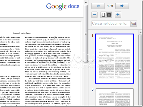 aprire i documenti pdf ppt e tiff sempre in google docs With google docs pdf powerpoint viewer