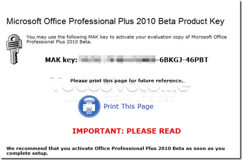 Download free software microsoft office plus 2010 beta - Office professional plus 2010 product key generator ...