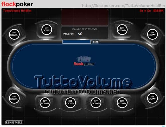 Crea un tavolo da gioco e invita i tuoi amici per giocare - Tavolo poker texas hold em ...