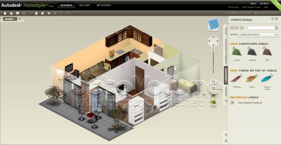 Autodesk dragonfly diventa homestyler e ora permette la for Progettazione 3d gratis